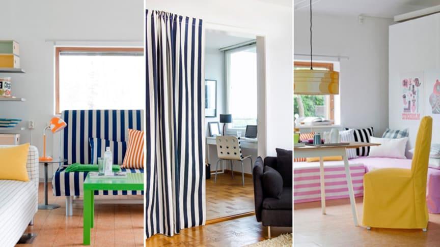 Smarta designtips för urban compact living från Bemz