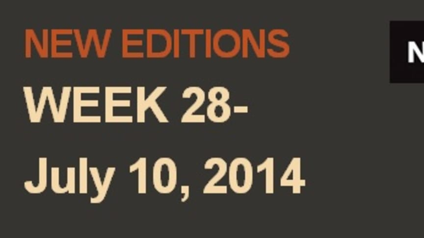NEW EDITIONS WEEK 28