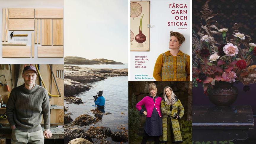 Ny programserie om hållbart hantverk på Stadsbiblioteket