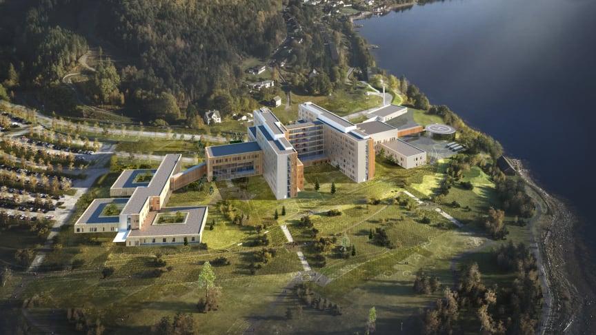 Arkitema og Ratio signerte kontrakt med Helse Møre og Romsdal