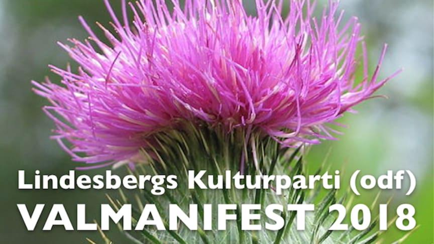 Kulturpartiets partisymbol är tistelblomman - vacker, vass och svår att utrota...