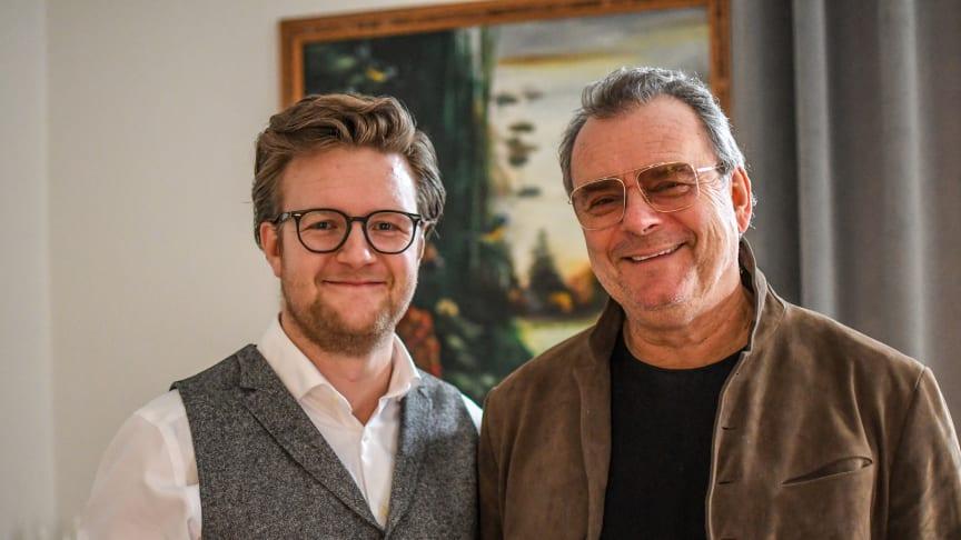 Robin Karlsson & Steffo Törnquist Foto: Robin Karlsson