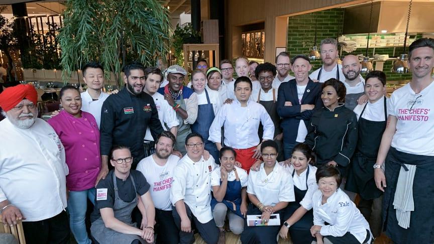 Chefs' Manifesto Network på Clarion Hotel Sign