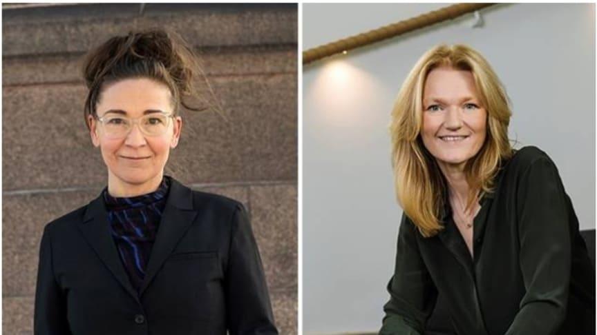 Jannie Jeppesen, vd Swedish Edtech Industry och Annika Andreasen, vd Svenska institutet för standarder