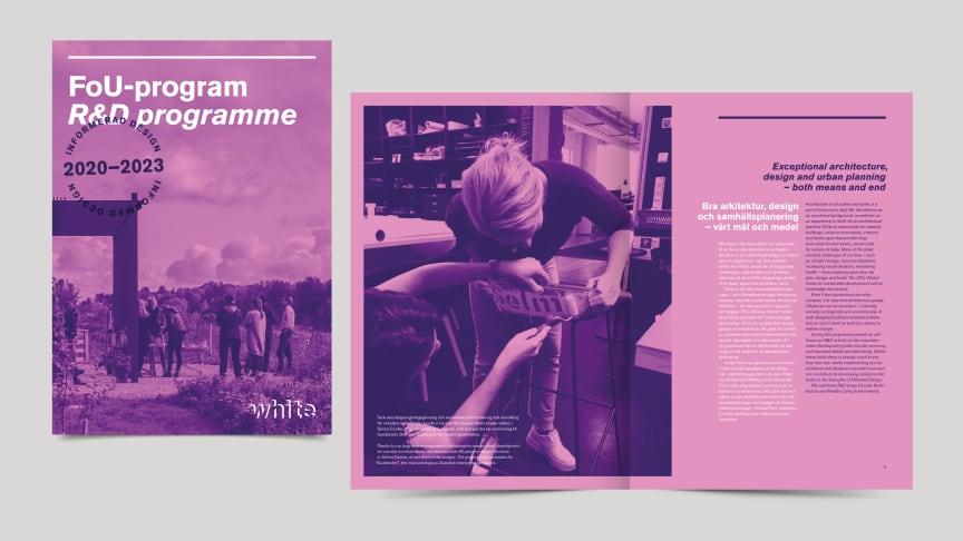 White Arkitekter lanserar nytt FoU-program med fokus på informerad design