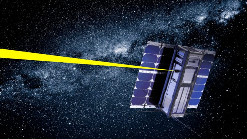 An image depicting what the CubeSat is expected to look like