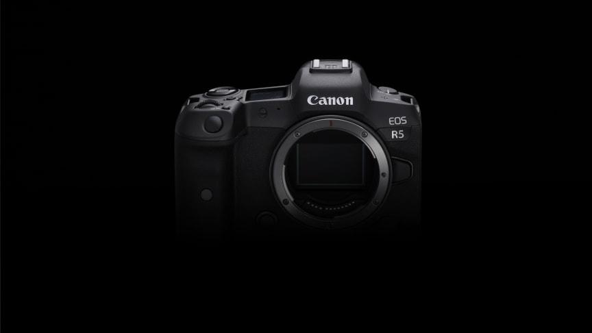 Canon setter ny standard for speilløse proffkameraer med utviklingen av EOS R5 med 8K-video