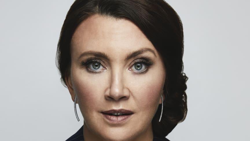 Camilla Läckberg (Foto: Magnus Ranvid/Viaplay)
