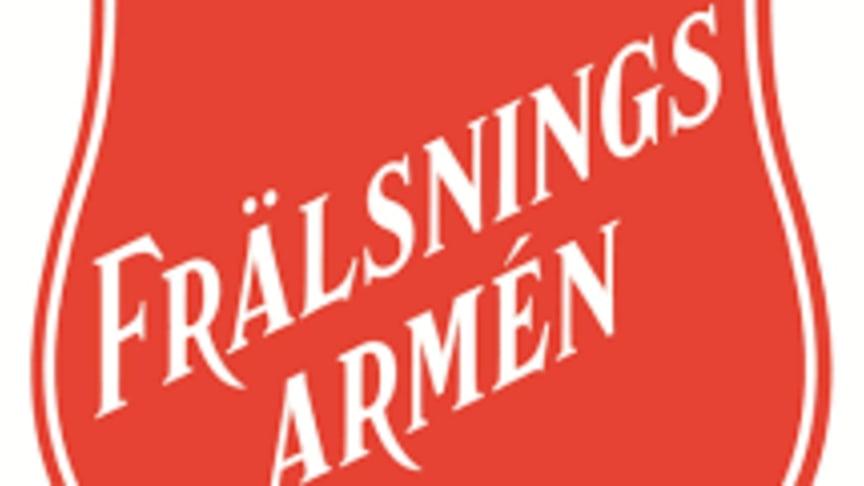 Frälsningsarmén i Nordstan 15-18 januari