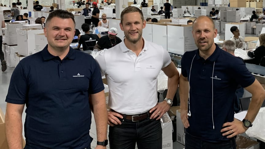 Från vänster: Ivica Trupina, Niklas Jalkander och Martin Skogeryd.