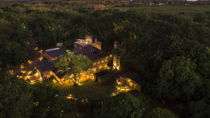 Stunning: the new restaurant and bar complex at the Maritim Resort & Spa Mauritius.