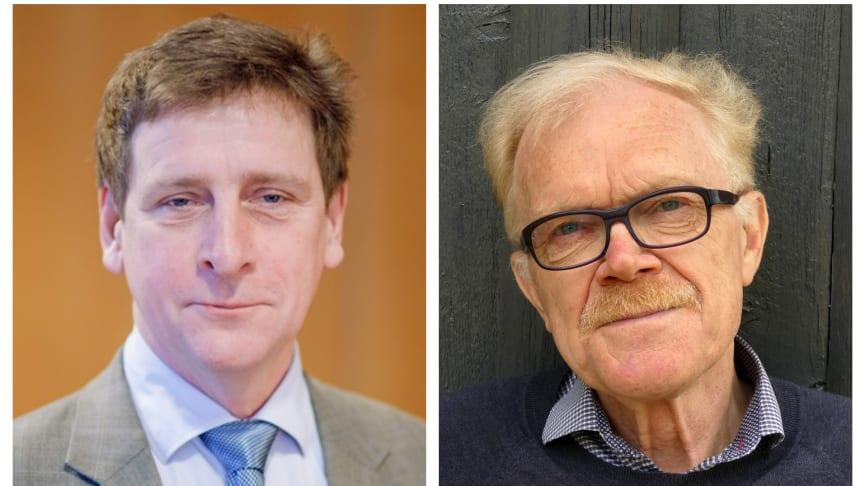Einar Pontén, vd på Lipum, and Professor Anders Fasth.