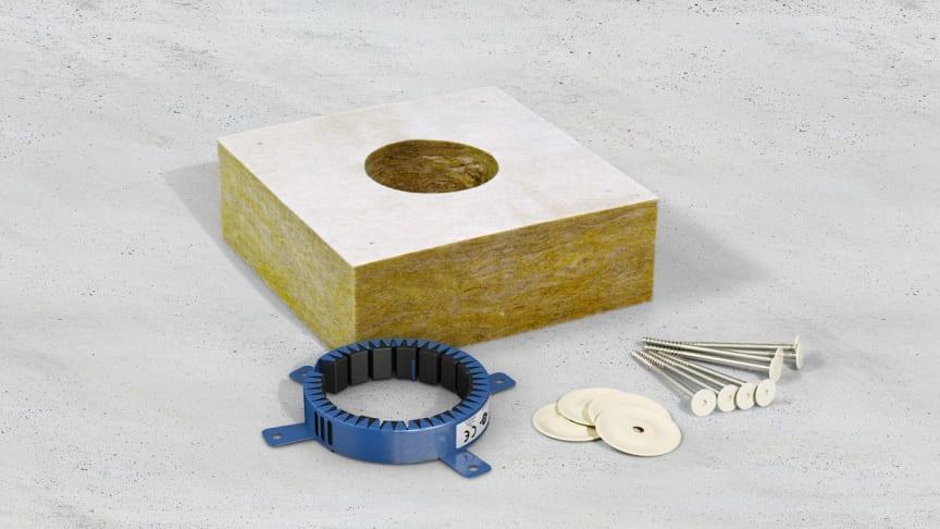 Der Lieferumfang des neuen Curaflam® MiWo-Block von DOYMA
