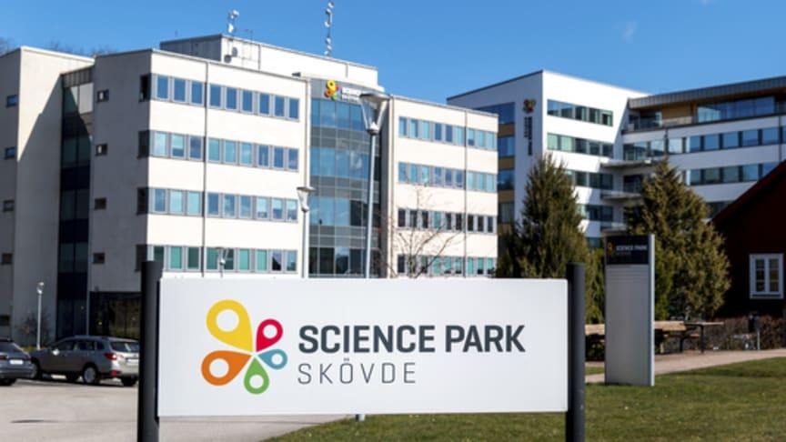Välkommen till Växthuset, Co-working space för att prata om utvecklingen av Skövde och Skaraborg. Foto: Skövde kommun