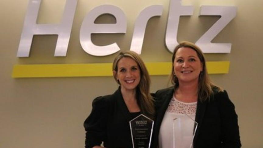 Susan Jacobs og Laura Smith har fått utmerkelser for innovasjon og ledelse av Global Business Travel Association.
