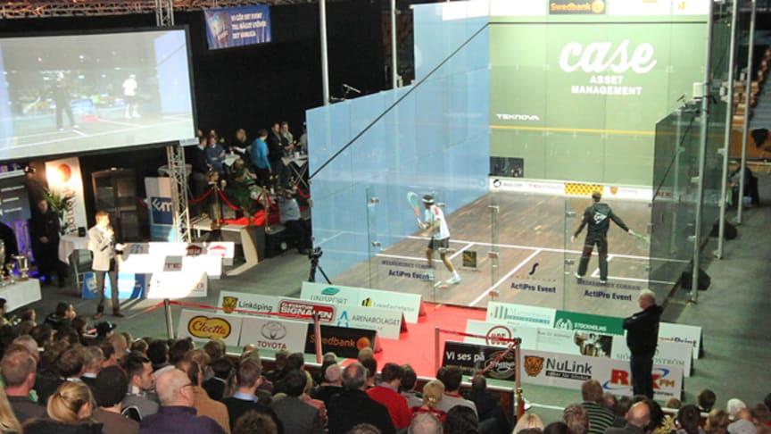 Case Swedish Open avgjordes i Linköpings sporthall