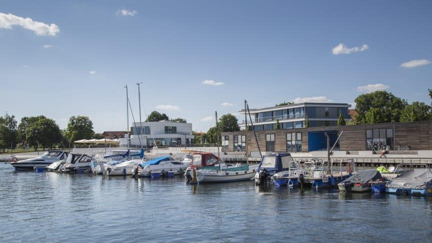 Das mittlerweile 7. Senftenberger Hafenfest lädt am Wochenende mit Konzerten und einer großen Sommerparty zum Flanieren und Verweilen ein. Foto: TMB-Fotoarchiv/Steffen Lehmann.