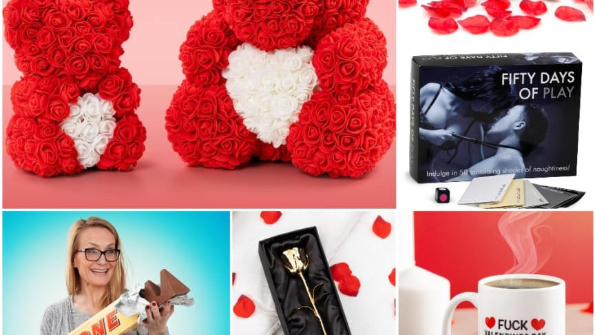 Valentinsgavetips utifra hvor lenge dere har vært sammen!