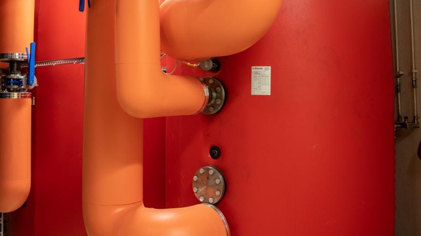 Energy Machines Värmepumpanläggning på Frölunda Torg
