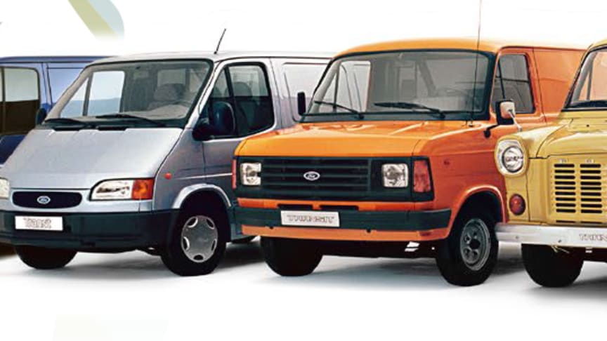 Fords legendariske Transit fyller 50 år
