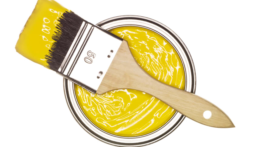 """Köp gula eller röda konstnärsfärger där det står """"hue"""", """"sub"""" eller """"imit"""" efter kulörnamnet. Dessa färger innehåller inte kadmium"""