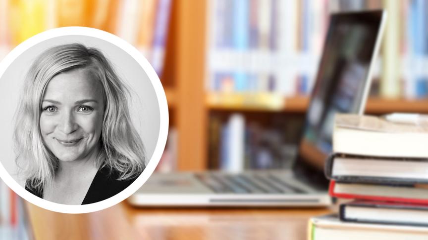 Anki Demred Klinga, digital utvecklingsledare i Ystad kommun, berättar om den digitala strategin som är till nytta för ledning, lärare och elever.