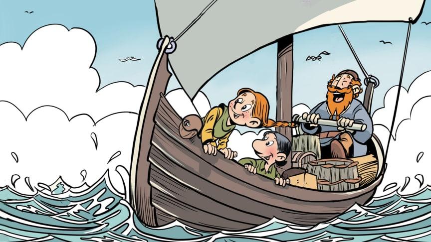 Vikingatjejen Siri erövrar de Brittiska öarna!