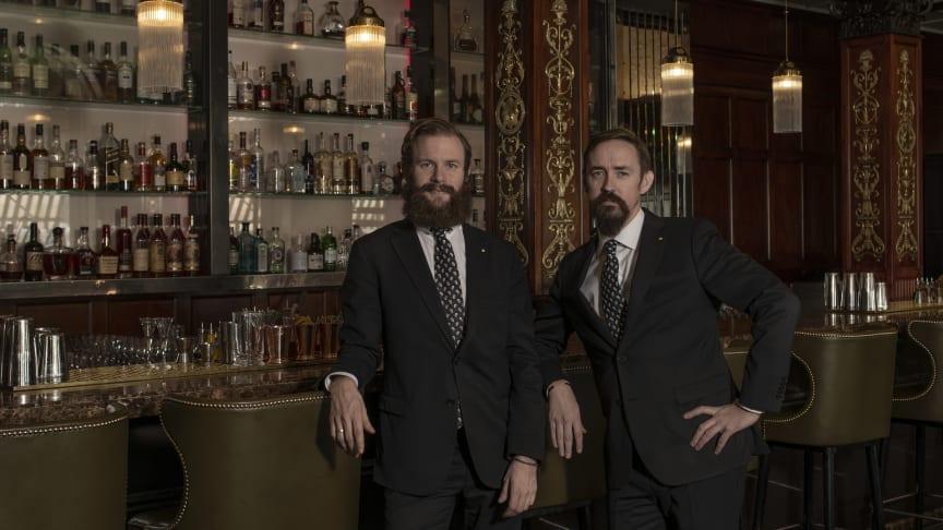 Bartenderduo tar över Cadierbaren med ett nytt cocktailkoncept