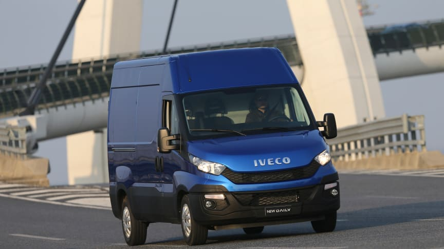 Danmarks-premiere på Iveco Dailys nye 8-trins automatiske gearkasse Hi-Matic