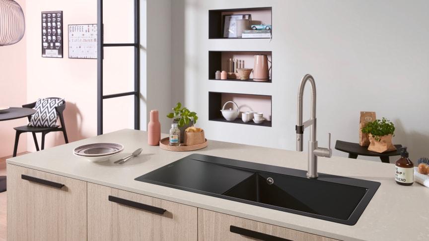 Traumpaare in der Küche: Spüle und Armatur als Dream-Team