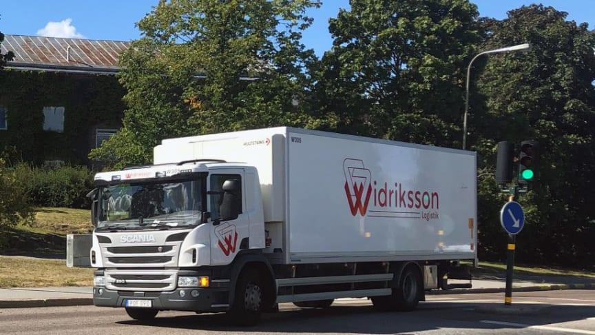 Starkt helårsresultat för Widriksson Logistik