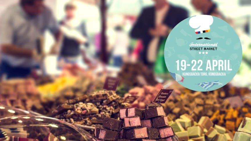 International street market 19-22 april bjuder på mycket gott.