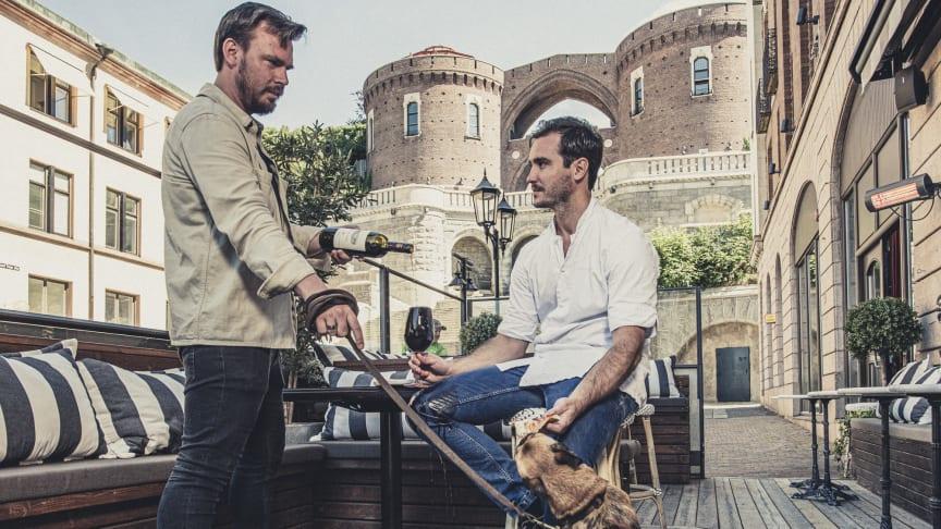 Helsingborgs-duon som tar dig till Italien på hemmaplan i sommar.
