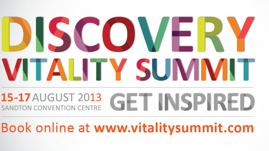 Top experts in sport, health and fitness join prestigious speakers at the Discovery Vitality Summit