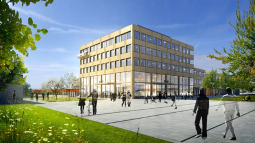 Ja till ny huvudbyggnad för SLU Uppsala