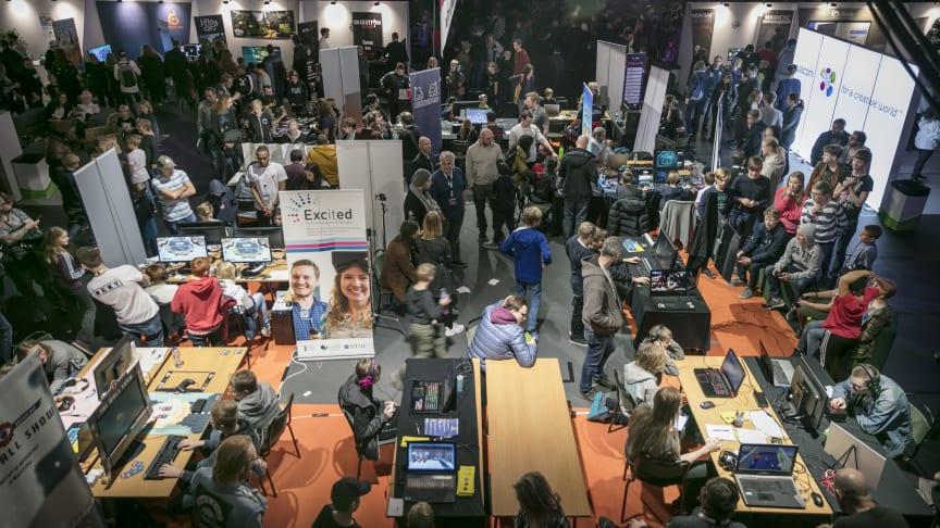 Sweden Game Festival arrangeras för femte året i rad i Skövde den 19 oktober. Foto: Tobias Andersson/Next Skövde