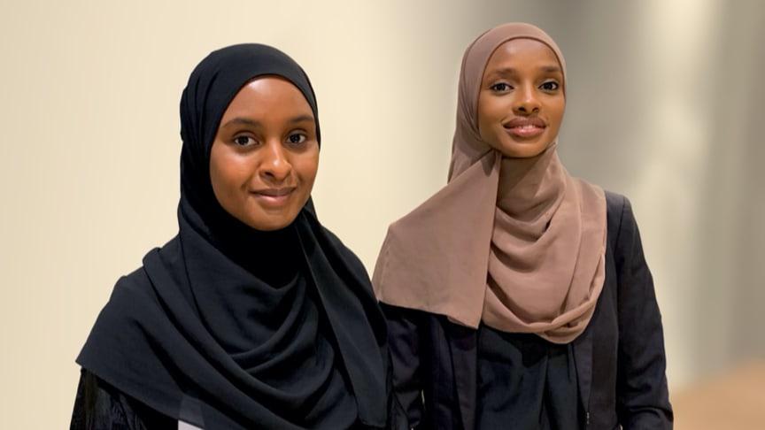 Årets revanschister är entreprenörerna Deqa Abukar och Amal Said, foto Miriam Linné