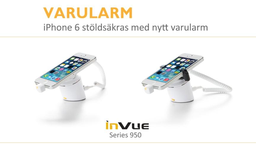 iPhone 6 stöldsäkras med nytt varularm