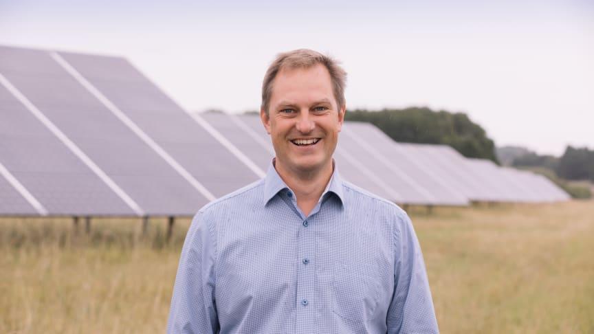 Johan Skördare, VD på EnergiEngagemang