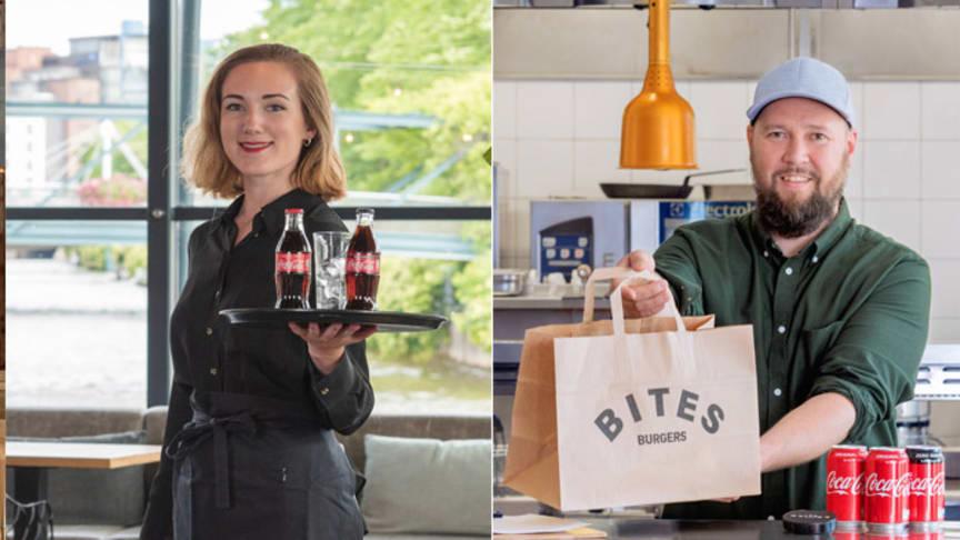 Faro Ravintola Ruoholahdessa ja Bites Burgers ovat mukana ohjelmassa, jossa Suomen Coca-Cola lahjoittaa 3000 ravintolalahjakorttia Apuna Ry:n kautta vähävaraisille perheille.