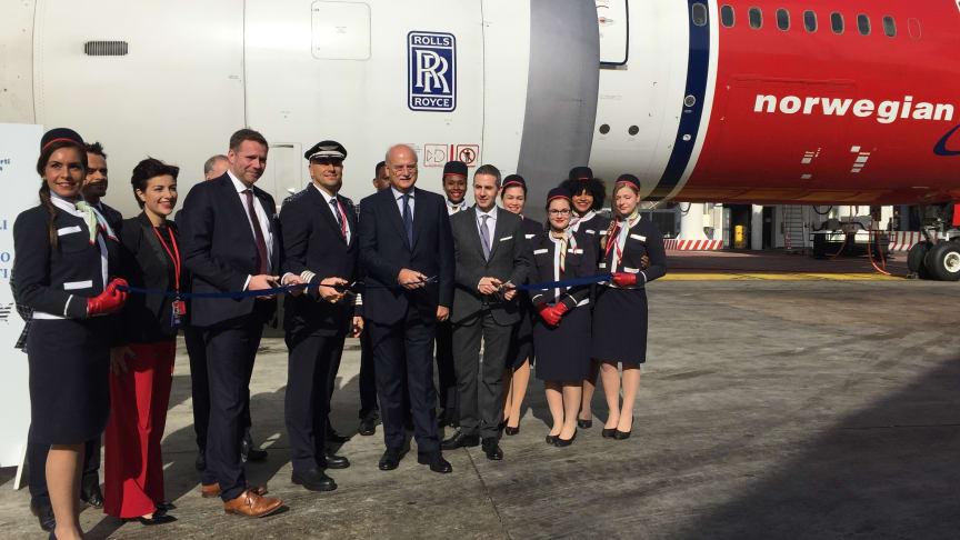 Norwegian inicia su operativa intercontinental en Roma esta semana