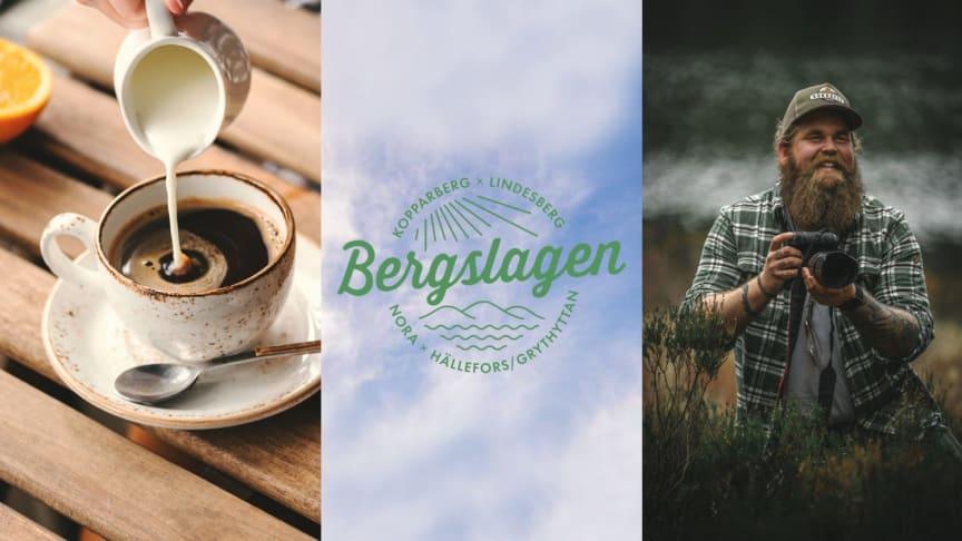 En fikaguide och ett reportage om Chris Kläfford som vandrar genom Bergslagen var delar av en lyckad kampanj för besöksnäringen i Bergslagen.