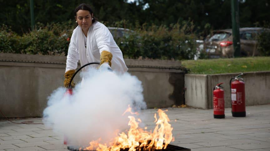 Personalstyrkan i Region Skåne har på kort tid blivit bättre på att hantera brandfaran