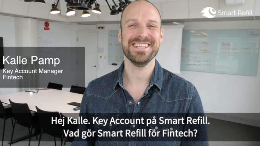 Se video med Kalle Pamp, Key Account Manager Fintech. 0:50 min