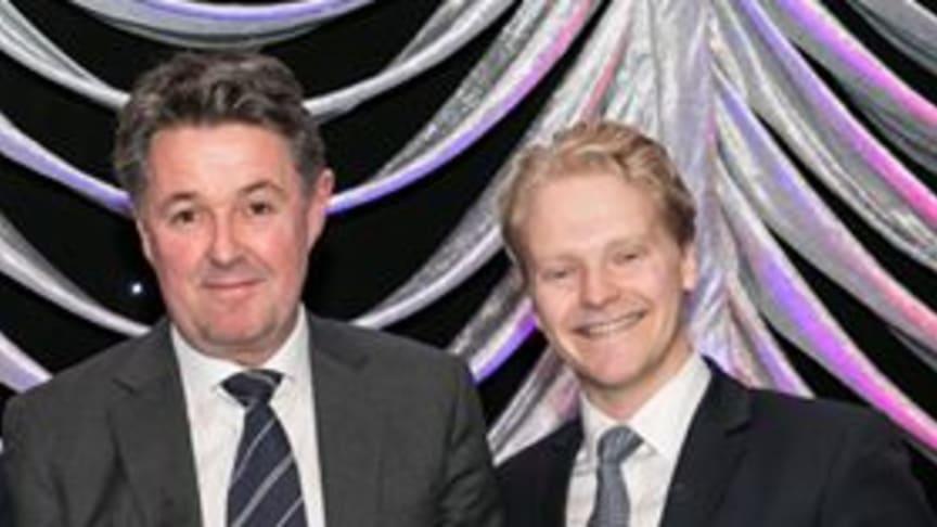 Geir Karlsen (left), Norwegian Chief Financial Officer and Morten Korsveien, Norwegian Manager Corporate Finance