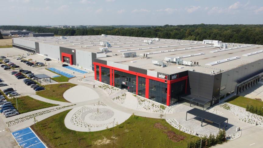 Weber åpner produksjons- og distribusjonssenter i Europa