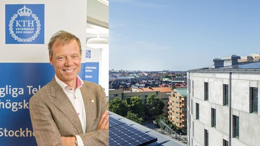 Christer Fuglesang inviger Einar Mattssons innovativa studentbostäder på KTH Campus