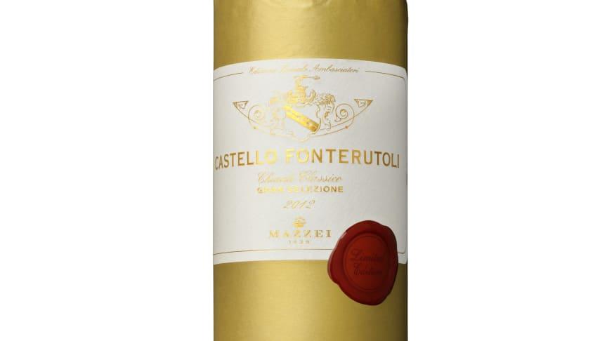 Castello Fonterutoli Special Edition -  i ny årgång och guldkostym!