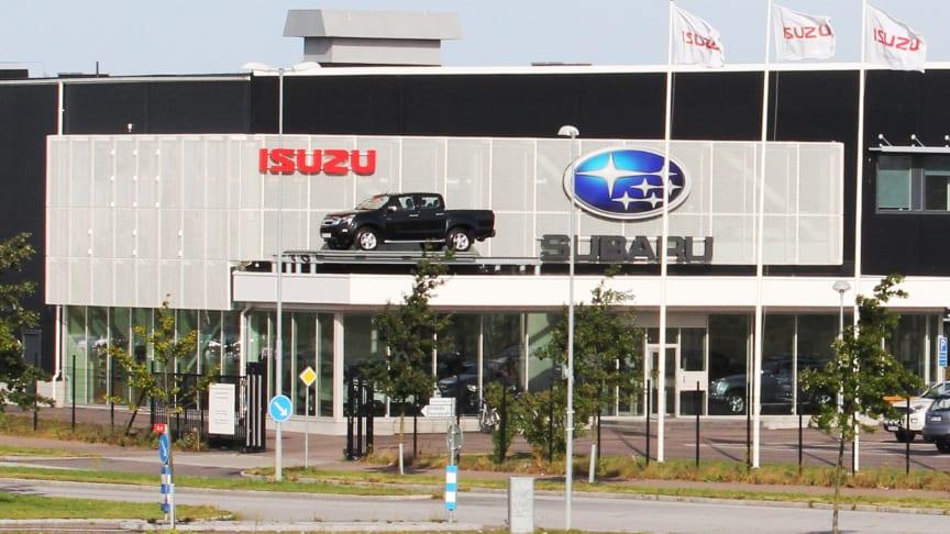 Isuzu växer snabbt i Sverige