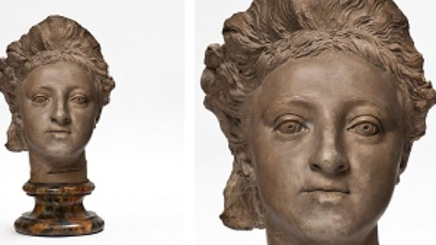 New acquisition: Sergel's portrait of Duchess Hedvig Elisabet Charlotta